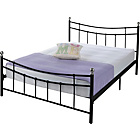 more details on Darla Kingsize Bed Frame - Black.