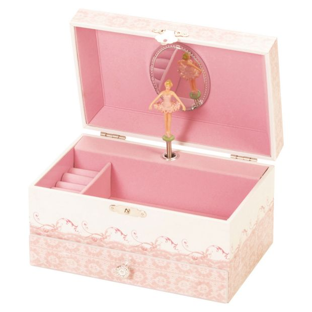 Empty Baby Gift Boxes Uk : Buy ballet shoe musical jewellery box at argos