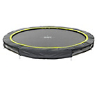 more details on EXIT 12ft Black Edition Ground Trampoline.