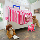 more details on Bazoongi Pink Stripe Bed Play Tent.