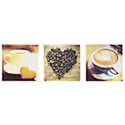 more details on Collection Coffee Canvas - Set of 3.