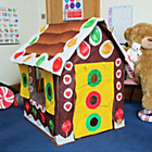 more details on Bazoongi Gingerbread House Play Tent.