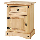 more details on Collection Puerto Rico 1 Drawer Bedside Chest - Pine.