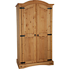 more details on Puerto Rico 2 Door Wardrobe - Light Pine.