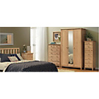 more details on Scandinavia Double Bedroom Furniture Package - Pine.