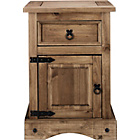 more details on Puerto Rico 1 Drawer Bedside Chest - Dark.