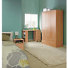 more details on Malibu 3 Door 4 Drawer Wardrobe - Beech Effect.