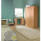 more details on Malibu 3 Door 4 Drawer Wardrobe - Pine Effect.