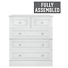 more details on Collection Stratford 3+2 Drawer Chest - White.