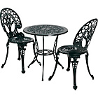 more details on The Collection Ascot 2 Seater Cast Alu Bistro Set.
