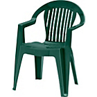 more details on Stacking Garden Chair - Green.
