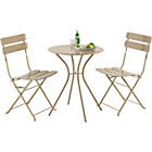 more details on Garden Bistro Furniture Set - Stone Colour.