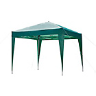 more details on HOME Large Pop Up Square 2.4m x 2.4m Garden Gazebo.