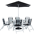 more details on HOME Pacific 6 Seater Patio Furniture Set.