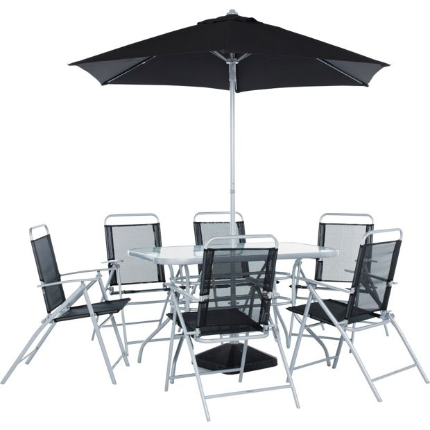 Buy Home Pacific 6 Seater Patio Furniture Set At Your Online Shop For Garden Table
