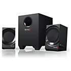 more details on Creative SoundblasterX Kratos S3 2.1 Gaming Speakers - Black