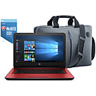 more details on HP 14 Inch Intel Pentium 8GB 2TB Laptop Red - Bag & McAfee.
