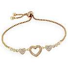 more details on Abbey Clancy Adore Rose Heart Slider Bracelet.