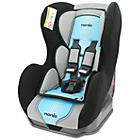 more details on Nania Groups 0+ - 1 Cosmo First Pop Blue Booster Car Seat.