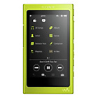 more details on Sony NWA35 Walkman High Resolution 16GB MP3 Player - Yellow.
