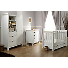 more details on OBaby Stamford Mini 3 Piece Room Set - White.