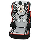 more details on TT Disney Mickey Mouse Groups 2-3 Red Booster Car Seat.