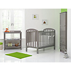 more details on OBaby Lily Furniture & Bedding Set - Taupe Grey.