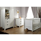 more details on Obaby Stamford 3 Piece Furniture Room Set - White.