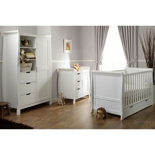 Buy Obaby Stamford 3 Piece Furniture Room Set White At Your Online Shop For