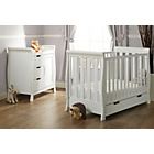 more details on OBaby Stamford Mini 2 Piece Room Set - White.