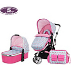 more details on Obaby Chase 2 in 1 Stroller & Carrycot – Cottage Rose.