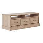more details on Collection Durham 3 Drawer Coffee Table - Oak Effect.