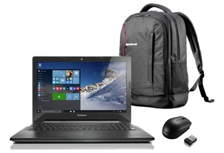 Lenovo G50 15.6'' Ci3 8GB 1TB Laptop plus Bag and Mouse.