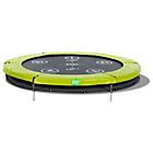more details on EXIT 8ft Twist Ground Trampoline - Green/ Grey.