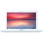 more details on Asus Chromebook C201 11.6 Inch 2GB 16GB Laptop - White.