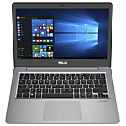 more details on Asus Zenbook 13.3 Inch Ci3 4GB 256GB SSD Laptop - Silver.