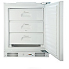 more details on Candy CFU130EK Undercounter Fridge Freezer - White.