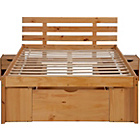 more details on Ultimate Storage Double Bed Frame - Pine Effect.