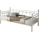 more details on Abigail Metal Single Daybed Frame - White.