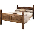 more details on Puerto Rico Double Bed Frame - Dark Pine.
