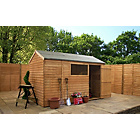 Mercia Wooden Overlap Reverse 10 x 6 Apex Shed.