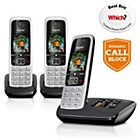 more details on Gigaset C430A Cordless Telephone with Answer Machine -Triple