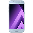 more details on Sim Free Samsung A3 2017 Mobile Phone - Blue Mist.
