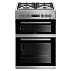 more details on Beko KDG653S Gas Cooker - Silver.
