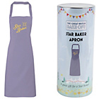 more details on The Great British Bake Off Star Baker Apron.