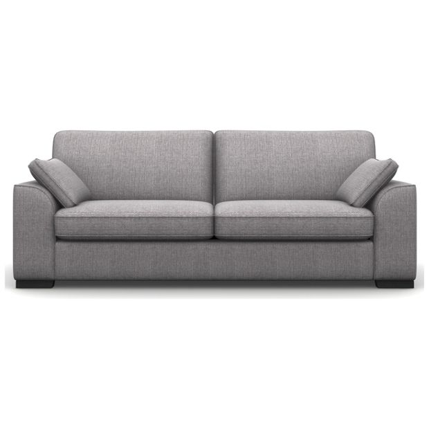 Buy Heart of House Lincoln 4 Seater Fabric Sofa - Ash at Argos.co.uk - Your Online Shop for null.