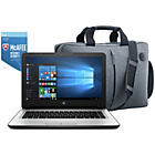 more details on HP 14 Inch Intel Celeron 4GB 1TB Laptop White - Bag & McAfee