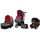 more details on Obaby Chase 2 in 1 Travel System - Crossfire.