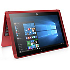 more details on HP X2 10.1 Inch 4GB 500GB & 64GB SSD 2-in-1 Laptop - Red.