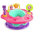 more details on Summer Infant 3 Stage SuperSeat Forest Friends - Pink.